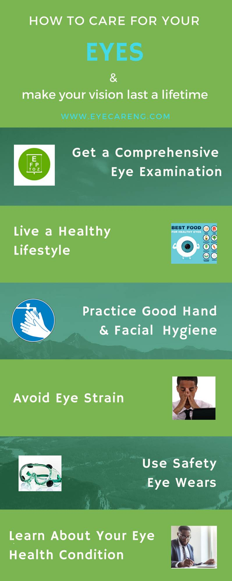 How to care for your eyes and make your vision last a lifetime