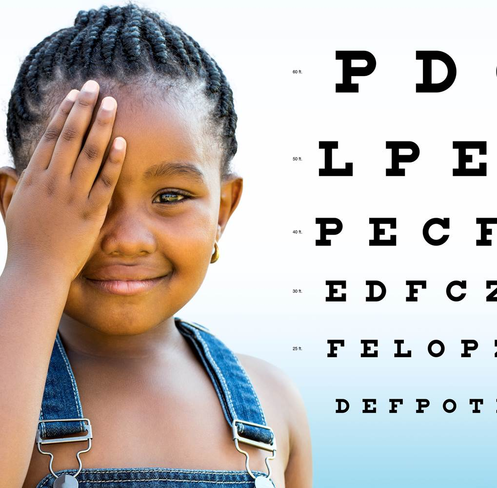 Child visual acuity test