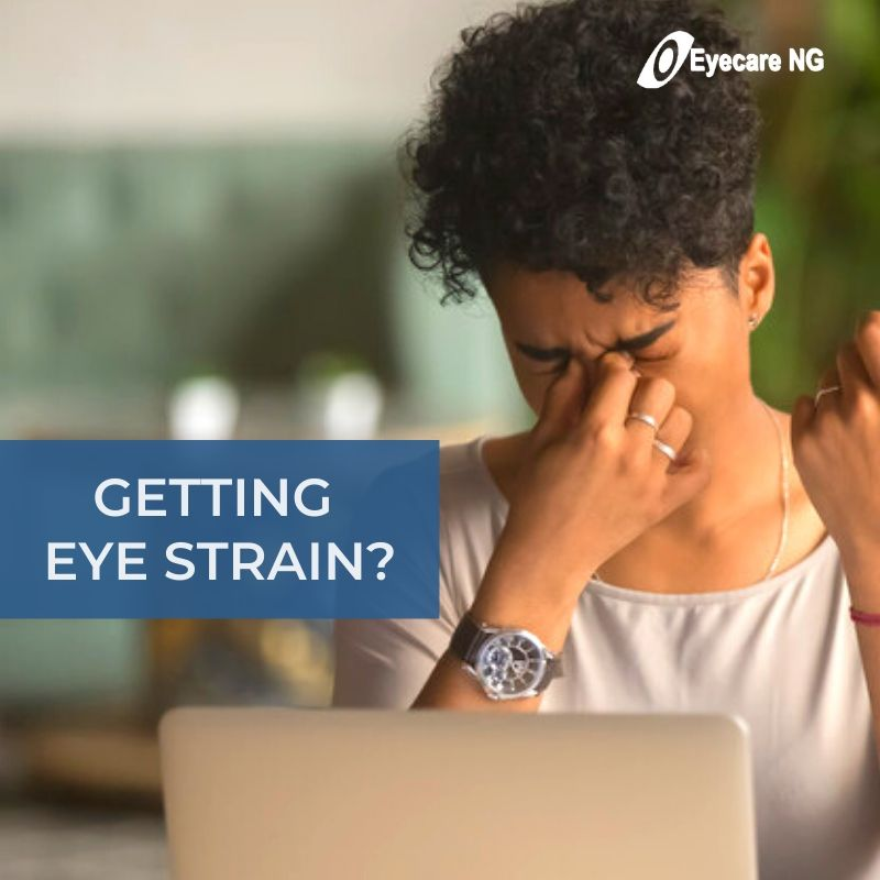 Getting eye strain?