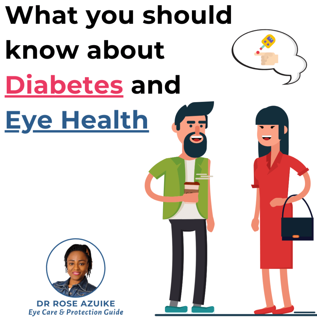 What you should know about diabetes and eye health
