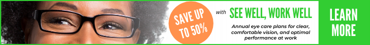 Save 50 Percent on your eye care